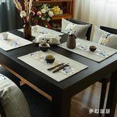 餐墊中國風防熱飯桌家用托盤碗墊 QW7559『夢幻家居』