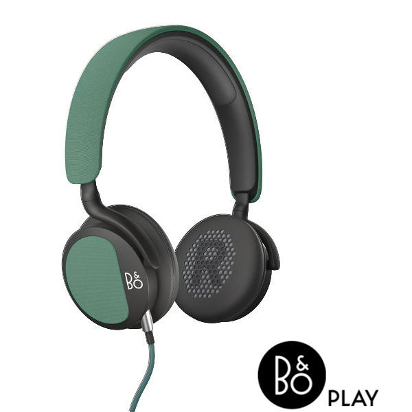 B&O最新款耳機 BeoPlay H2 內建麥克風可通話 Bang Olufsen 耳罩式 綠色展示機出售
