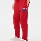 Gap男童束口褲腳長褲540266-正紅色