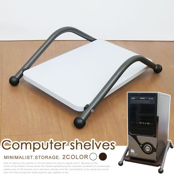 主機架《YoStyle》輕巧電腦主機架(兩色可選) 活動架 置物架 書桌 電腦桌