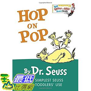 [106美國直購] 2017美國暢銷兒童書 Hop on Pop (Big Bright & Early Board Book) Board book