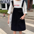 背帶短褲 新款韓版夏裝chic寬松百搭減齡背帶褲顯瘦闊腿牛仔短褲女大碼 寶貝計書