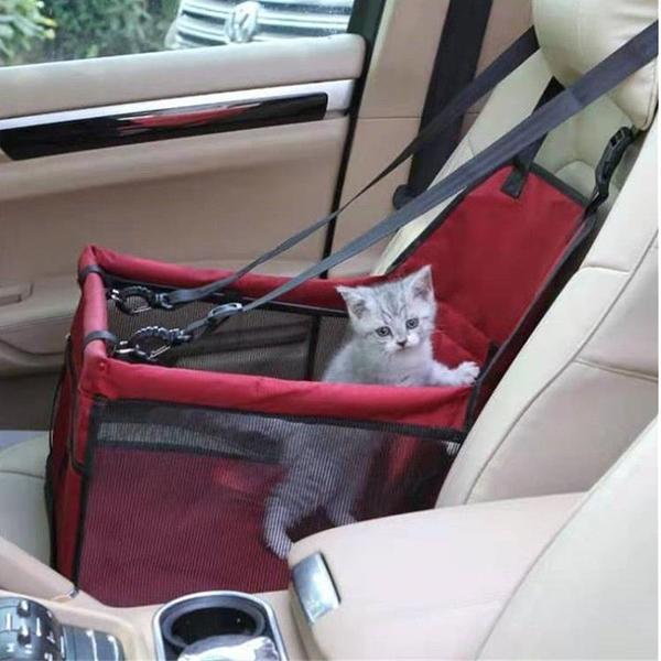 新款副駕駛寵物車載包狗狗汽車坐墊 亞馬遜爆款后前排狗墊車載包