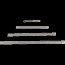 【奇奇文具】徠幅LIFE 鋼尺/直尺 (15cm) 12支/盒
