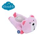 美國cloud b 聲光音樂夜燈/安撫睡眠玩具/夜燈-粉熊熊CLB7472-BRP