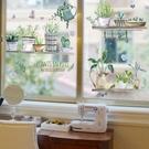 3d立體墻貼畫北歐窗戶玻璃門貼紙衛生間浴...