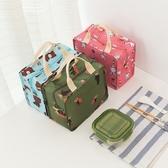 《簡單購》韓風可愛動物防潑水手提保溫便當袋/野餐袋/保冷袋