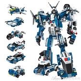 拼裝玩具啟蒙積木拼裝模型兒童玩具益智力動腦男孩樂高成年高難度拼 快速出貨