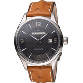 Hamilton 漢米爾頓 Jazzmaster 紳士自動上鍊機械腕錶 H32755851 鴕鳥皮