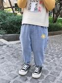 牛仔褲兒童牛仔褲春秋洋氣女童蘿卜褲2020新款春裝休閒長褲寶寶小童褲子 新品