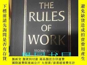 二手書博民逛書店THE罕見RULES OF WORK(工作規則)Y246860