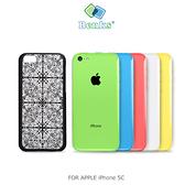 摩比小兔~ BENKS APPLE iPhone 5C 巧克力圖騰保護殼 硬質保護殼 硬殼 彩殼 保護套(透明色)