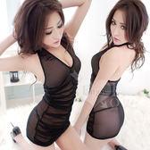 情趣睡衣 蕾絲款 推薦商品 情趣用品 深情之約!綁脖誘人二件式睡衣