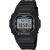 CASIO 卡西歐 經典太陽能電力手錶-黑 G-5600E-1 / G-5600E-1DR