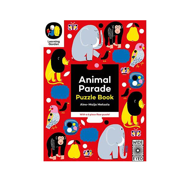 Animal Parade: Puzzle Book - With a 6 Piece Floor Puzzle! 動物天堂遊戲書 (6片)