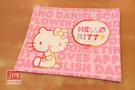 Hello Kitty 凱蒂貓 皮質資料袋 網袋 英文 粉 211596
