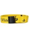 ■專櫃77折■ 全新真品■Off White 緹花徽標工業皮帶