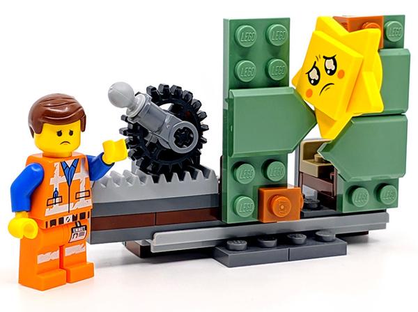 【LEGO 樂高 可刷卡】☆ 30620 樂高玩電影2 Star-Stuck Emmet ☆全新品【台中星光電玩】