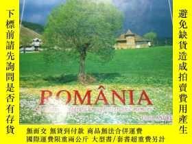 二手書博民逛書店ROMÂNIA罕見. A photographic memory(羅馬尼亞 彩色圖集)Y17608 Flori