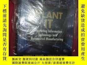 二手書博民逛書店Plant罕見IT: Integrating Informati