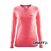 【瑞典CRAFT】女 全天候長袖內著衣『螢光桃紅』1903714 排汗衣│慢跑衣│吸濕排汗│乾爽透氣