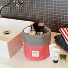 大容量圓桶收納包 旅行收納袋 圓筒收納袋 化妝包 洗潄包【SE1220】Loxin
