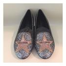 ■現貨在台■專櫃價44折■Chiara Ferragni 全新真品 好萊塢星星造型亮片低跟樂福鞋 IT 38/40