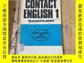 二手書博民逛書店Contact罕見English: Tchrs Book. 1