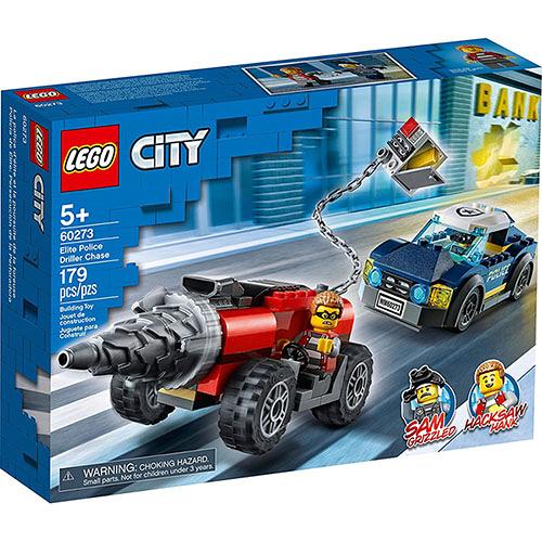 樂高積木 LEGO《 LT60273》City 城市系列 - Elite Police Driller Chase / JOYBUS玩具百貨