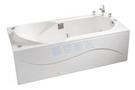 【麗室衛浴】BATHTUB WORLD 長型壓克力浴缸 LS-7160D 帶牆 160*73*55cm