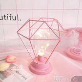 小夜燈北歐風宿舍臥室創意裝飾燈具ins網紅浪漫床頭燈小台燈燈泡小夜燈 數碼人生