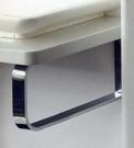 【麗室衛浴】方形扁鐵不鏽鋼鐵架 C-025-1 40*20cm 支撐面盆或檯面 (單位/1對)