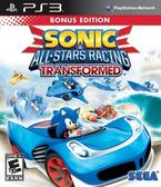PS3 Sonic and All-Stars Racing Transformed Bonus Edition SEGA 超級巨星大賽車:變形(美版代購)