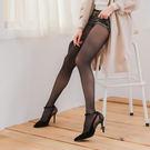 18D天鵝絨鋼絲面膜微壓收腹提臀美腿性感絲襪(黑色)