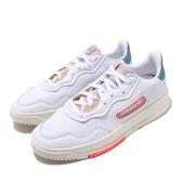 adidas 休閒鞋 SC Premiere W 白 米白 女鞋 運動鞋 復古奶油底 【PUMP306】 EF5918