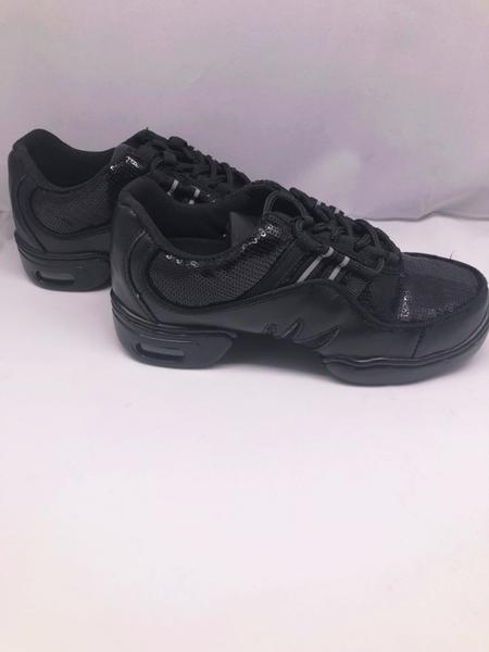 【節奏皮件】新款真皮網面舞蹈鞋 排舞鞋 有氧舞導鞋 韻律鞋(型號6023-07)