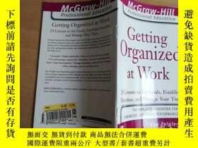 二手書博民逛書店組織你的工作罕見Getting Organized at Wor