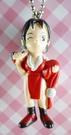 【震撼精品百貨】日本精品百貨-手機吊飾/鎖圈-格鬥系列-手機吊飾-女紅衣