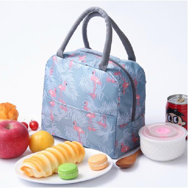 便當包 加厚飯盒袋子保溫袋便當袋手提包鋁箔保暖手拎袋帆布袋學生拎午餐 【快速】