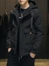 棉衣男士冬季外套2020新款短款韓版潮流加厚羽絨棉服潮牌工裝棉襖 黛尼時尚精品