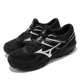 Mizuno 慢跑鞋 Maximizer 23 黑 白 男鞋 網布 透氣輕量 美津濃 【ACS】 K1GA2100-10