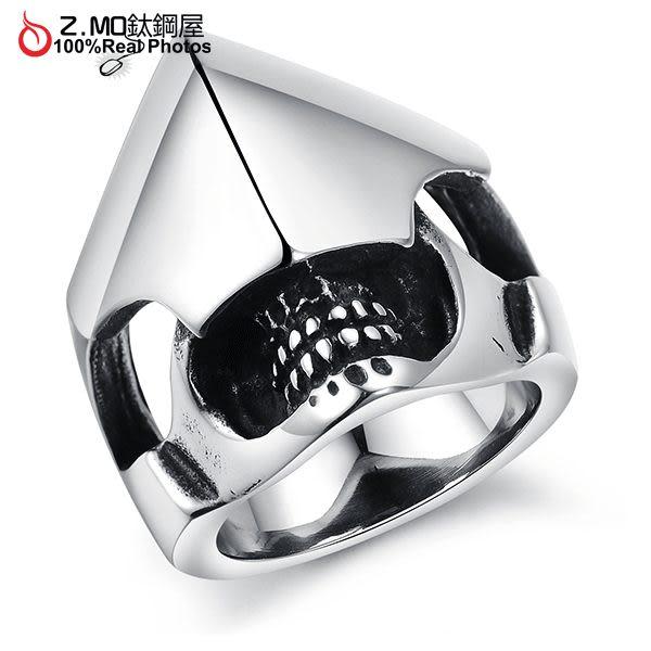 [Z-MO鈦鋼屋]316L鈦鋼戒指/韓版寶劍造型/精緻造型/見面禮物/男友禮物推薦單只價【BKS408】