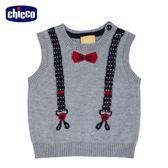 chicco-城市系列-針織假吊帶背心-灰