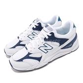 New Balance 慢跑鞋 NB X90 白 藍 透氣網布 全新鞋款 運動鞋 男鞋 女鞋【ACS】 MSX90TBED
