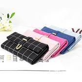 錢包  皮夾 2018新款ins女士錢包大容量長款多功能百搭大氣韓版零錢包手拿包