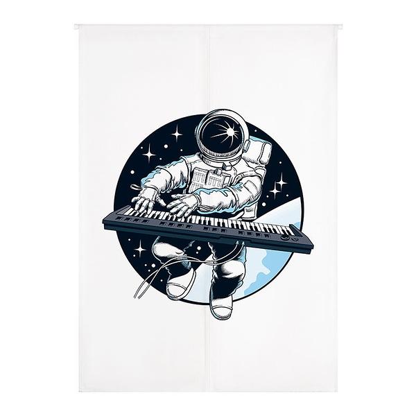 太空之音-keyboard 門簾 窗簾 風水簾 玄關GBC-4075