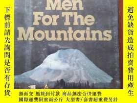 二手書博民逛書店Men罕見for the mountains 原版 精裝帶封皮Y