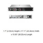 HPE DL20 Gen10 3.5吋非熱抽伺服器(P06961-B21)【Intel Xeon E-2124 / 8G記憶體*1 / NO HDD / 內建S100i / DVD】