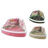 寵物家族-日本Marukan-扇形精巧兔便盆MK-MR-259 粉紅/黃/咖啡