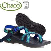 Chaco ZLW02-HC15藍寶石印花 女越野舒壓運動涼鞋-夾腳款Z2
